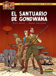 BLAKE Y MORTIMER 18. El santuario de Gondwana