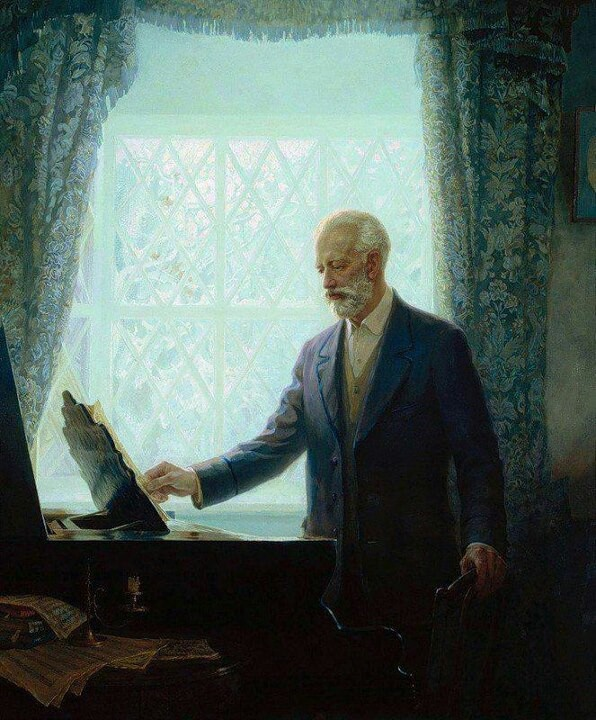 Miss Jacobson's Music: TCHAIKOVSKY PICTURES PART 1