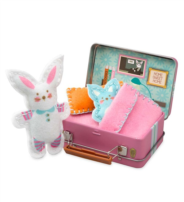 Bunny Travel Buddies Sewing Kit