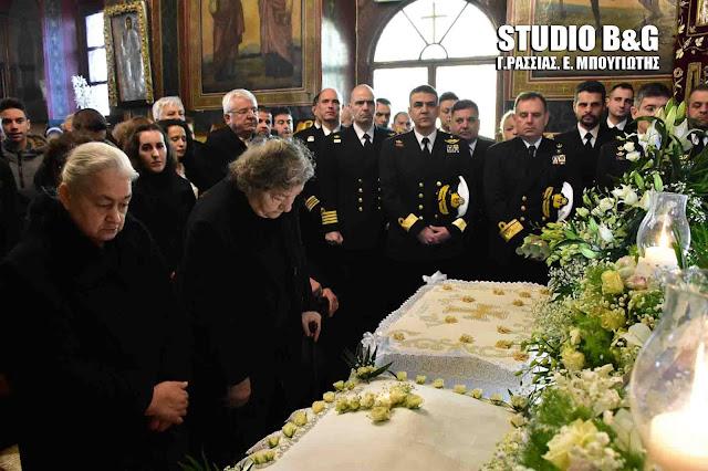 Συγκίνηση στο ετήσιο μνημόσυνο του Κωνσταντίνου Πανανά στο Ναύπλιο