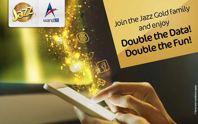 Jazz Introduces Double Data Offer for New Postpaid Customers