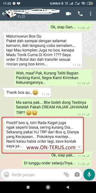 Kwalitas Original Cream Hajar Jahanam TRP ini No Telp dan WA nya