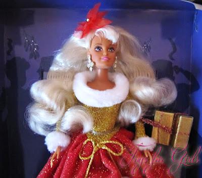 Синди 90-х выглядели как куклы Барби 90-х: Sindy Noel 1996