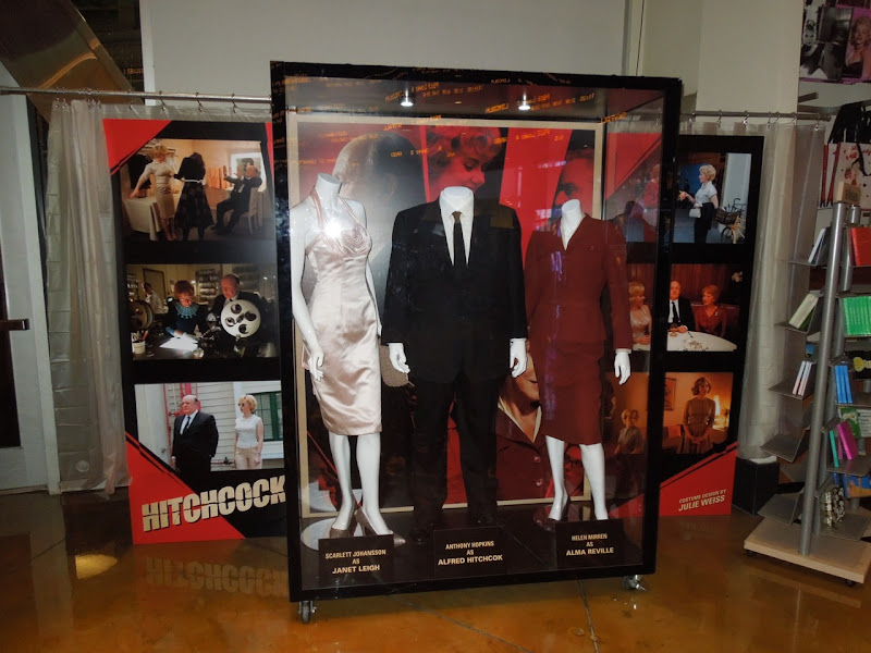 Hitchcock movie costumes exhibit