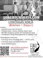 Loker Surabaya di Fukudon Cafe (Coffee 'n Eatery) Desember 2019
