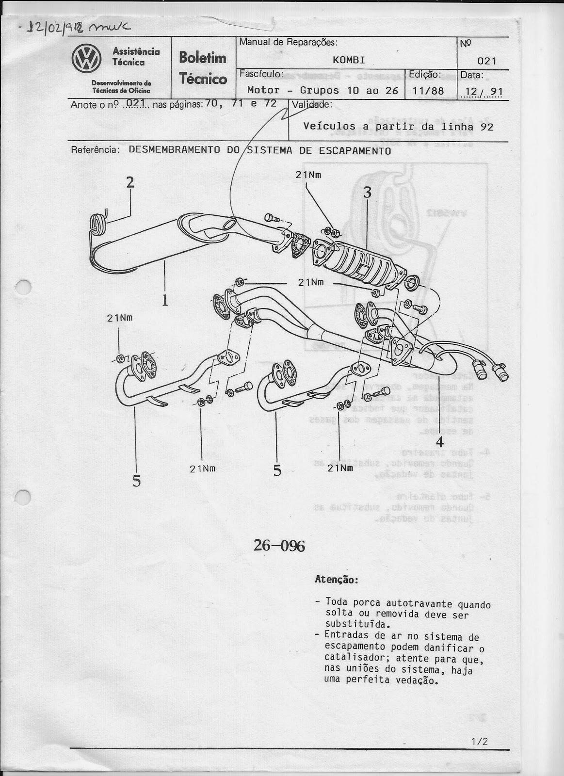 MANUAIS DO PROPRIETÁRIO GRÁTIS: MANUAL DE REPARAÇÕES VW