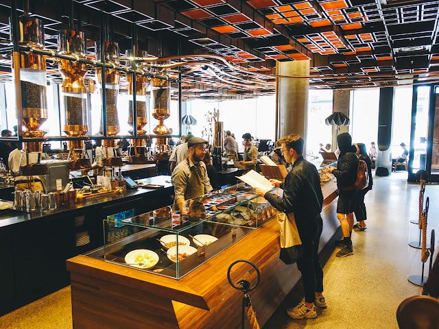 スターバックス・リザーブ・ロースタリー ニューヨーク店(Starbucks Reserve Roastery NYC)