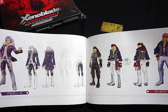 DSC01944 - 異域神劍 異度神劍 終極版 遊戲限定版畫集  ゼノブレイド ディフィニティブ・エディション / Xenoblade Definitive Edition / Xenoblade Chronicles: Definitive Edition