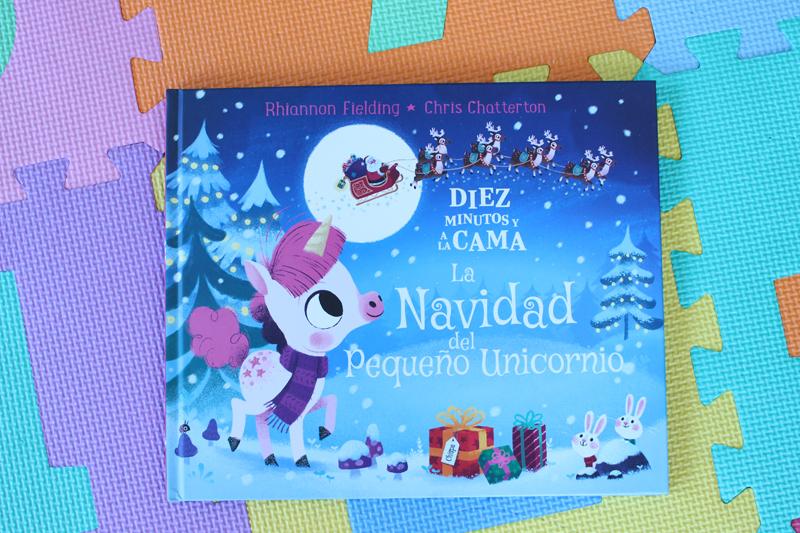 Cuento Navidad unicornio