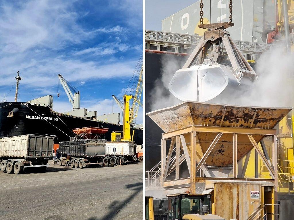 Porto Rio Grande realiza operação recorde em descarga de fertilizantes