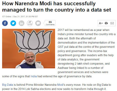 narendra modi big data