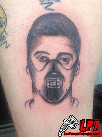 luis suarez humor tattoo