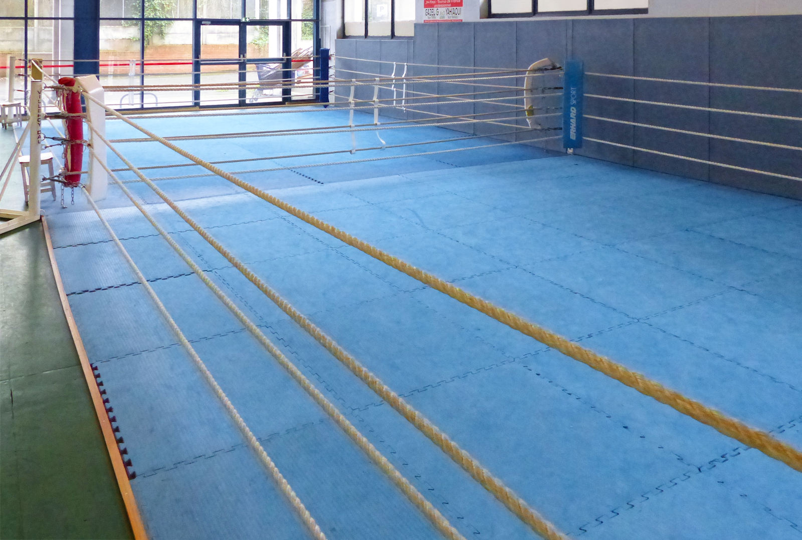Les 2 rings de Kick Boxing