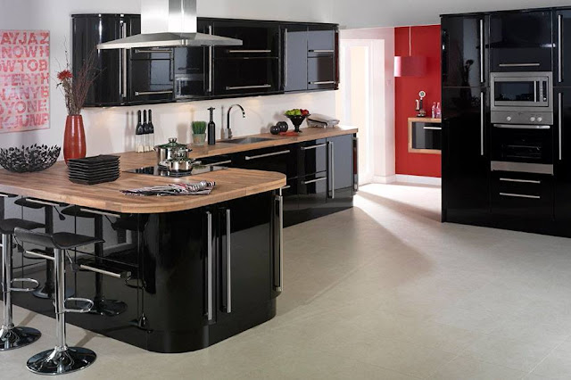 Awesome Mesmerizing Small Black Kitchen Cabinet Ideas 2016
