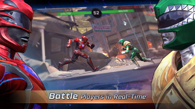 Game Android Power Rangers Legacy Wars APK