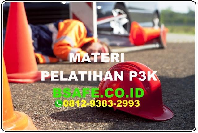 materi pelatihan p3k, harga pelatihan p3k, berita acara pelatihan petugas p3k