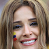 Colombian HOT & Sexy MOM Soccer Fan during Colombia vs England FIFA 2018 Round 16 Match