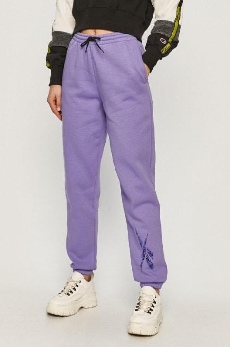 Reebok - Pantaloni trening dama violet