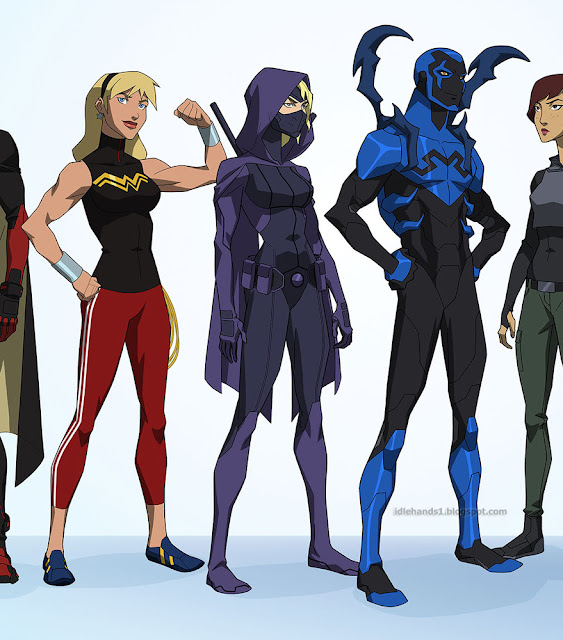 SDCC 2017: Young Justice: Outsiders Animated Series