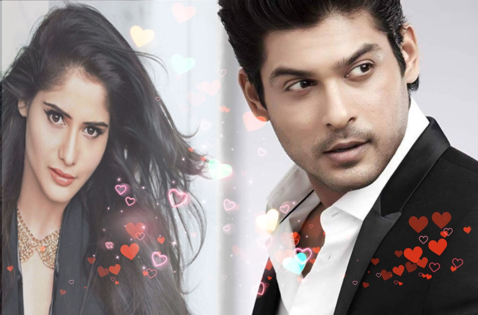 Siddarth shukla and arti singh in bigg boss 13