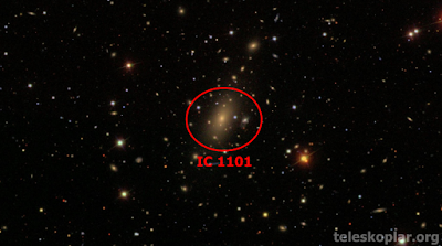 ıc 1101 teleskop