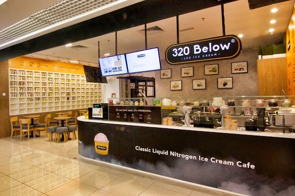 320 Below Nitrogen Ice Cream @ 1 Utama