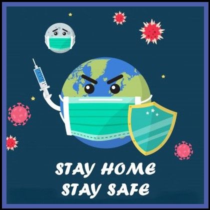 keep clean earth stay safe