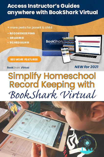 Easier Homeschool Record Keeping with BookShark Virtual
