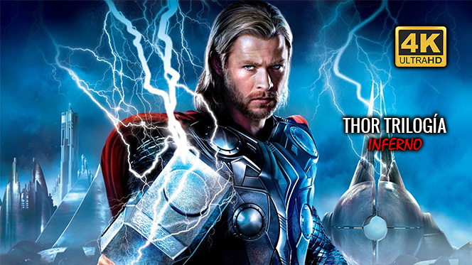 Thor: Trilogía (2011-2017) 4K UHD 2160p Español Latino-Castellano-Inglés