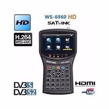 Sat Link WS 6960 HD Configuração e Apontamentos - 18/08/2016