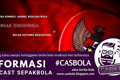 Timnas Indonesia Berlaga Oktober Mendatang