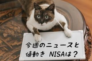 今週のニュースと値動き NISAは?