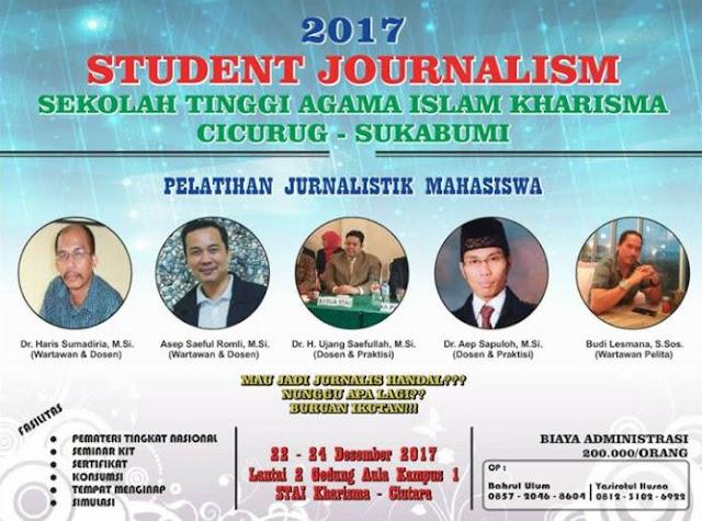 Pelatihan Jurnalistik Mahasiswa