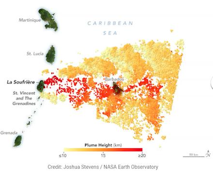 Σε 45 ηφαίστεια του πλανήτη παρατηρείται έντονη δραστηριοτητα - Νέα ισχυρή έκρηξη του Σουφριέρ χθες - Τι ανησυχεί τους επιστήμονες