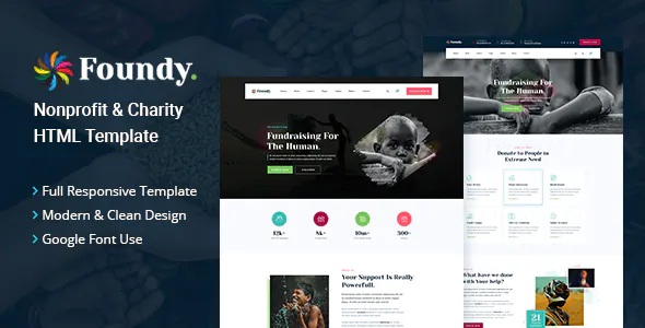 Best Nonprofit Charity HTML Template