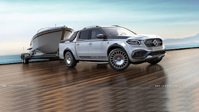 Mercedes X Class By Carlex Design Is The Maybach Of Pickup Trucks 6