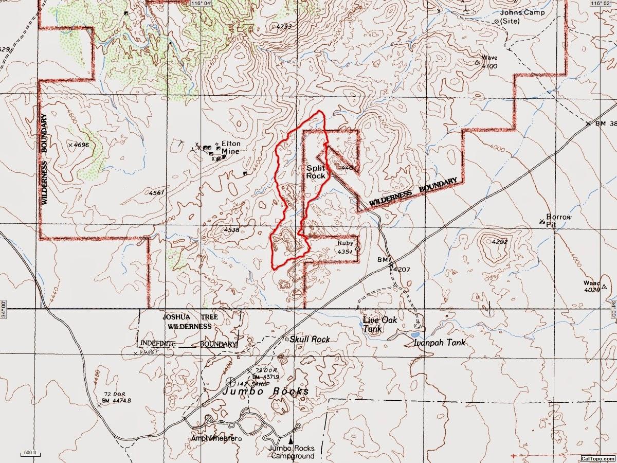 American Travel Journal: Joshua Tree National Park - Split Rock Trail