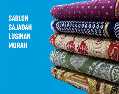 Jasa Konveksi Pembuatan Sajadah Bordir&Sablon Gorontalo