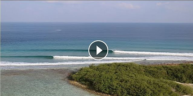 HD Drone Footage of Cokes Surf Breaks Maldives Surf Holiday