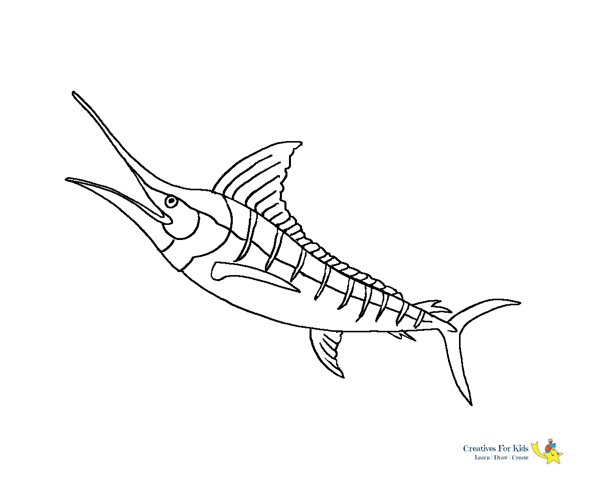 Malvorlage Anglerfischtätowierung Meer Monstertätowierung