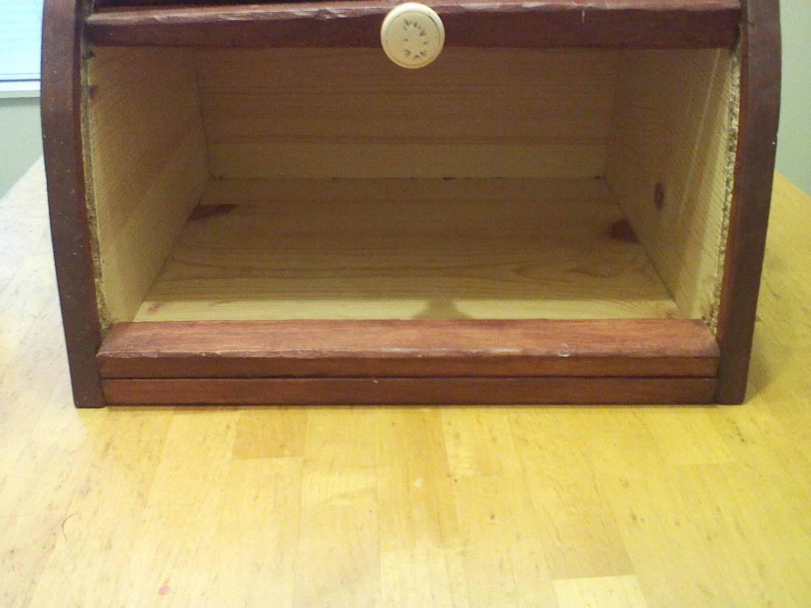 Pallet Craft: Blast from my not so distant past: Bread Box!