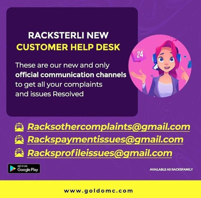 FASTEST WAY TO CONTACT RACKSTERLI CUSTOMER CARE SERVICE