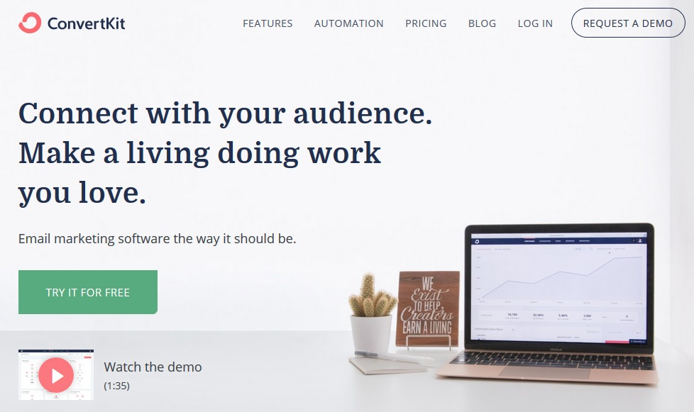 ConvertKit Review. Easy Email Automation For Bloggers