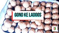 image of gond ke ladoos