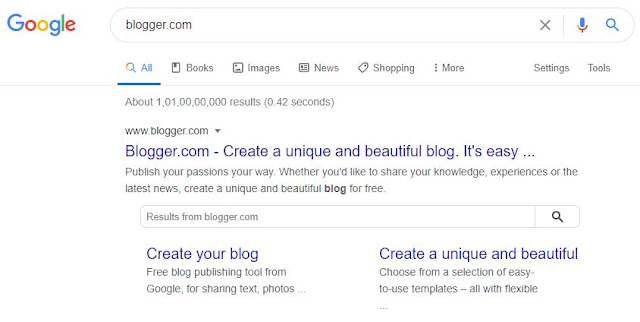 Blogger On Google