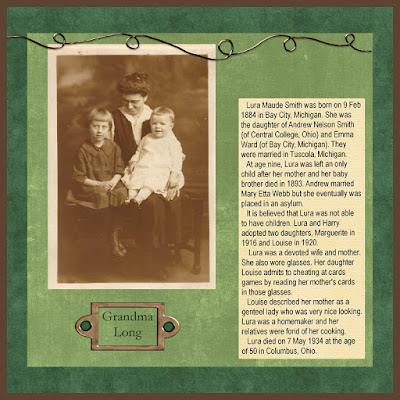 Journaling Tips for Family Tree Scrapbook Layouts