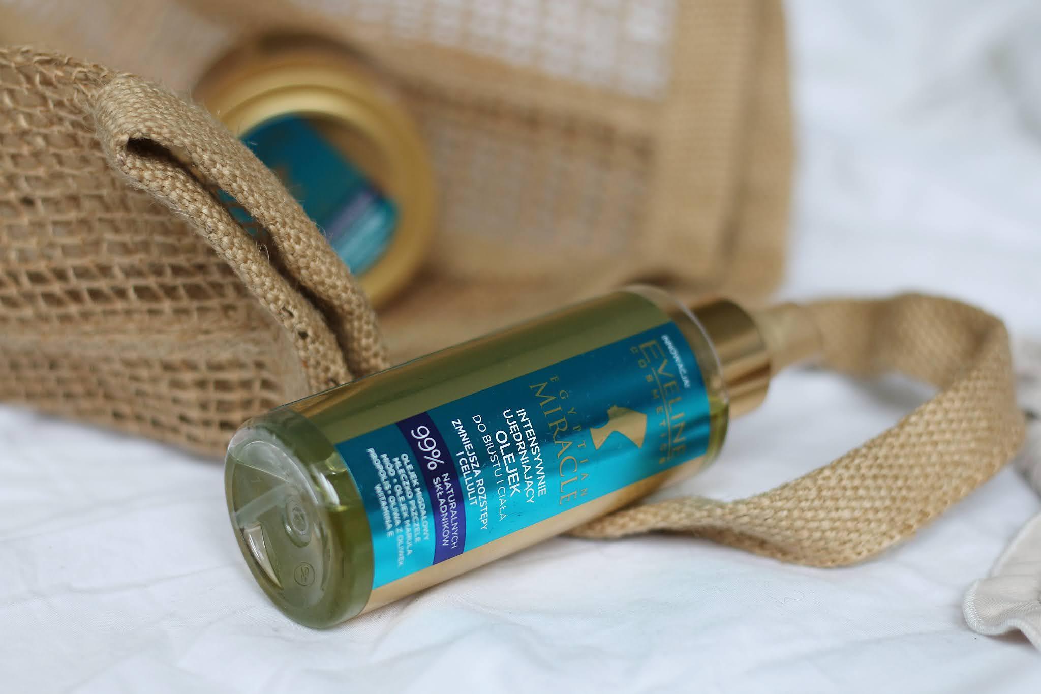 Eveline Egyptian Miracle intensywnie ujędrniający olejek do biustu i ciała