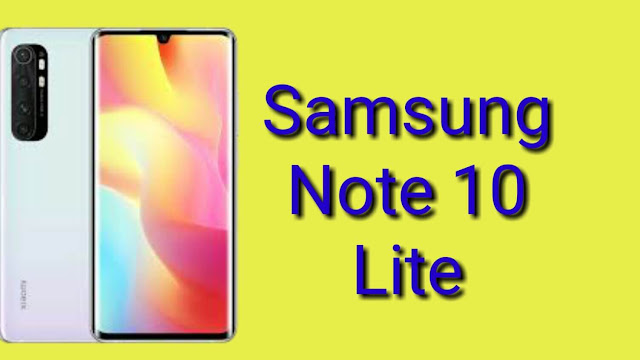 Samsung Galaxy Note 10 Lite: Display, Price, and Specifications in 2019.
