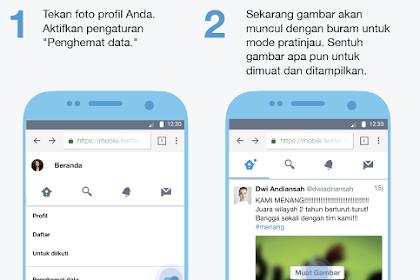 Cara Mengaktifkan Twitter Lite, Mode Yang Mampu Menghemat Data Sampai 70%