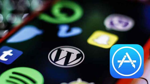 آبل تعتذر لتطبيق ووردبريس : شجع شركة أبل الأمريكية يطال حتى التطبيقات المجانية